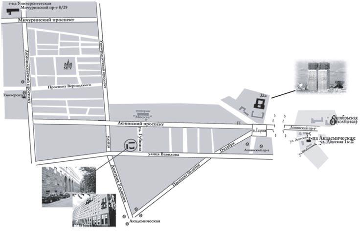 Схема проезда - Конференция Никольский - 100.